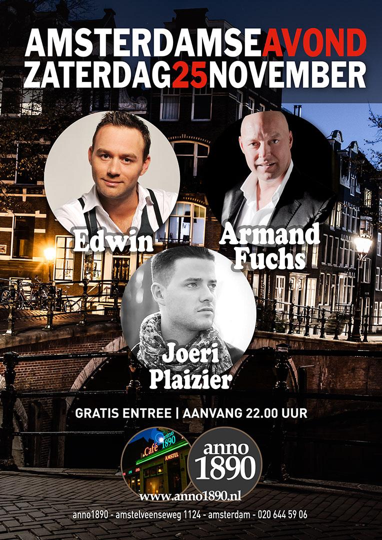 25 november 2017 Amsterdamse Avond