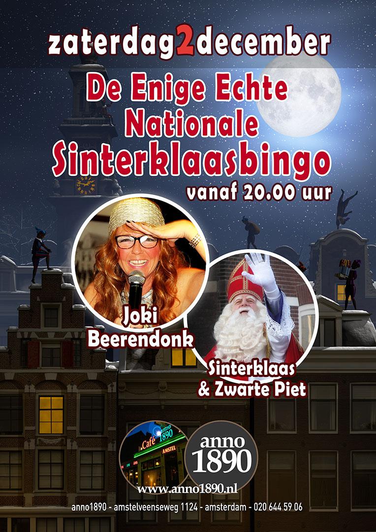 2 december 2017 Sinterklaas Bingo