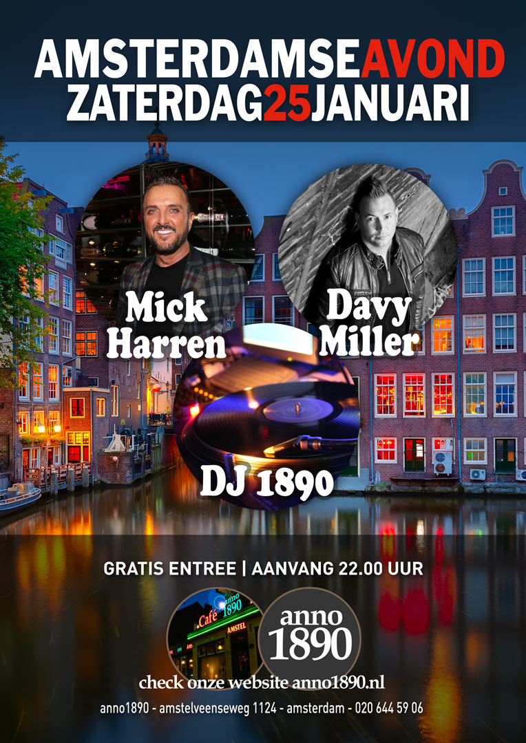 25 januari 2020 Amsterdamse Avond