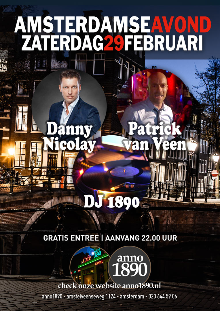 29 februari 2020 Amsterdamse Avond